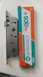 Pvc Solowin Banyo ve Wc Kapı Kilidi 35mm oc-037