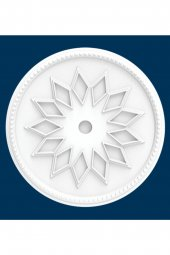 Polsis Beyaz Tavan Lamba Göbeği -;Baklava 402 PRPG402