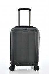 Ehs 1eh10507 Unisex 4 Tekerlekli Kabin Boy Valiz Siyah