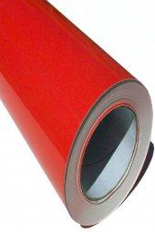 Parlak Kırmızı Yapışkanlı Folyo  122 CM  X 4 MT