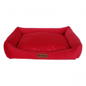 Markapet Tay Tüyü Yumuşak Köpek Yatağı Small Kırmızı 40*50 cm