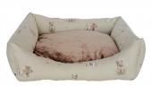 Markapet Köpek Desenli Köpek Yatağı X Large 80*100 cm