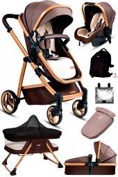 7in1 Set Baby Home 955 Travel Sistem Bebek Arabası Anne Yanı Sepet Beşik