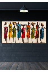 Totemler Duvar Kanvas Tablo 70X100 CM-7