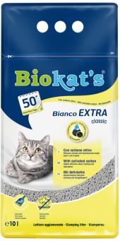 Biokats Kedi Kumu Bianco Extra 10 Lt