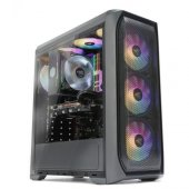 Zalman N5MF 4RGB Fan ATX Kasa Siyah PSU YOK