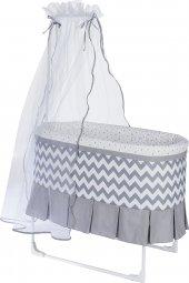 Baby Home 506 Ovve Tüllü Sallanır Bebek Sepeti Sepet Beşik