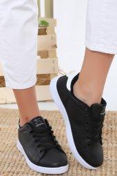 Albishoes Stanley Unisex Sneaker Siyah-Beyaz