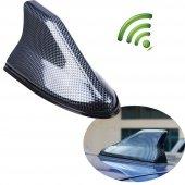 Universal Aksesuar Karbon Balık Sırtı Sinyal Güçlendirici Anten