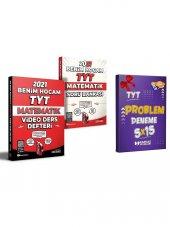 Benim Hocam 2021 TYT Matematik Video Ders Defteri ve Soru Bankası Seti + TYT Problem 5x15 Deneme