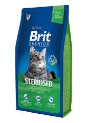 Brit Premium Adult Sterilised Tavuklu & Pirinçli Kısırlaştırılmış Yetişkin Kedi Maması 8 Kg