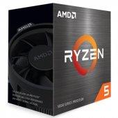 AMD Ryzen 5 5600X 3.7GHz 32MB AM4 7nm Kutulu İşlemci