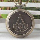 Assassins Creed CEP SAATİ KOLYE YENİ TARZ YENİ MODA