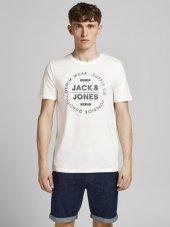 Jack&Jones Erkek Baskılı T Shirt 12177533
