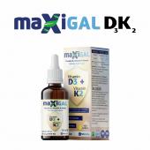 Maxigal D3K2  20ml Damla Takviye Edici Gıda