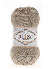 Alize Cotton Gold Hobby El Örgü İpi 50 gr Bej Melanj 152