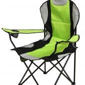 Walke Kamp Sandalyesi Katlanır Büyük Boy Taşıma Çantalı Yeşil