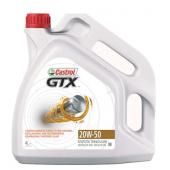 Castrol GTX 20W50 Motor Yağı 4 Litre