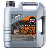Liqui Moly 5W-30 Tam Sentetik Toptec 4200 4 Litre Motor Yağı