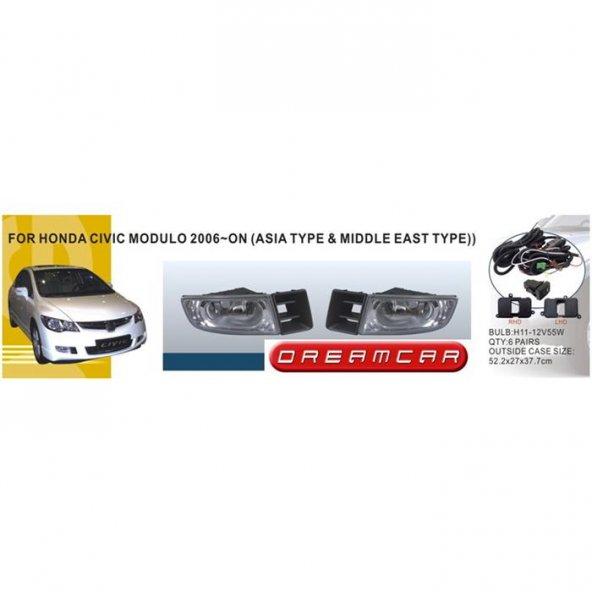 Dreamcar Dlaa Sis Farı Honda Civic 2006-2009 İçin 57642