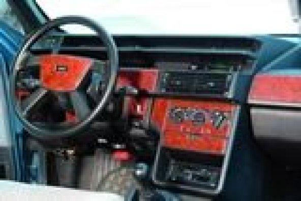 FIAT TIPO - TEMPRA 1991>  22 PARÇA TORPİDO KAPLAMASI MAUN