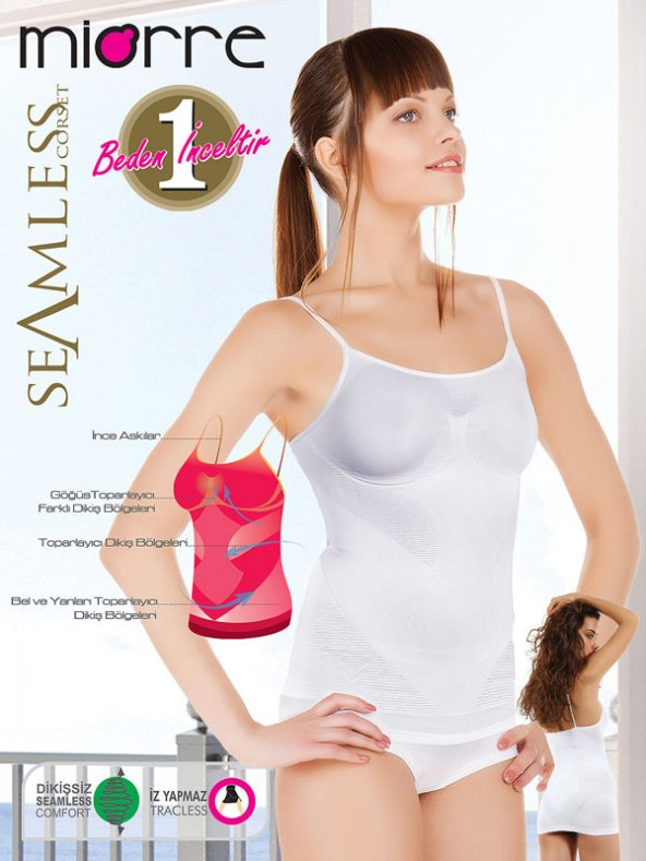 MIORRE ATLET SEAMLESS İP 3200