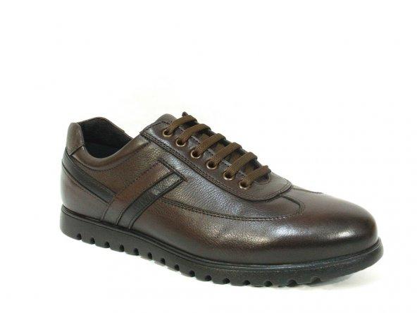 Nobilta 4620 Kahverengi Bağcıklı Casual Erkek Ayakkabı