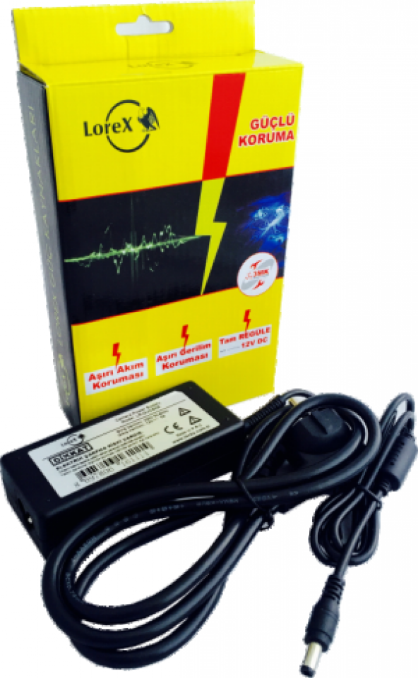 LOREX LR-GUCSW5 12V 5A Kamera LED Adaptörü
