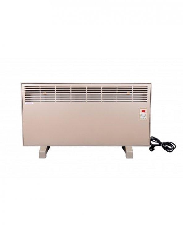 Vigo Dijital 2000 Watt Inox Elektrikli Panel Konvektör Isıtıcı EPK4590E20İ