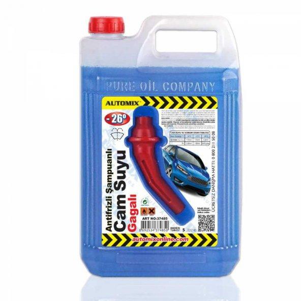 Automix Antifrizli Cam Suyu 5 Lt Gagalı