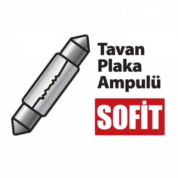 Automix Tavan Ve Plaka Ampulü 12 Volt 5 Watt
