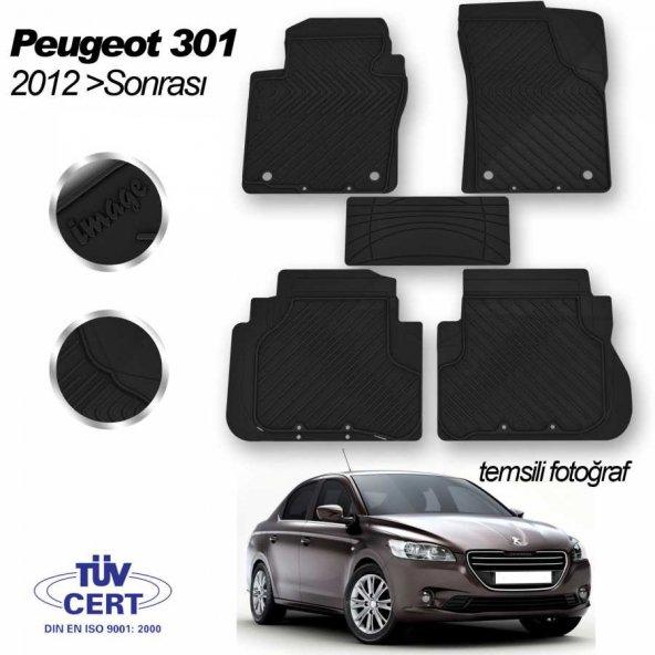 İmage Peugeot 301 Oto Paspas Seti Siyah