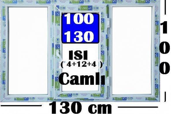 100 X 130 ISI CAMLI PENCERE
