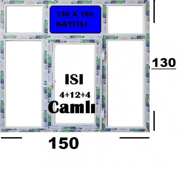130 X 150 ISI CAMLI PENCERE (KAYITLI)