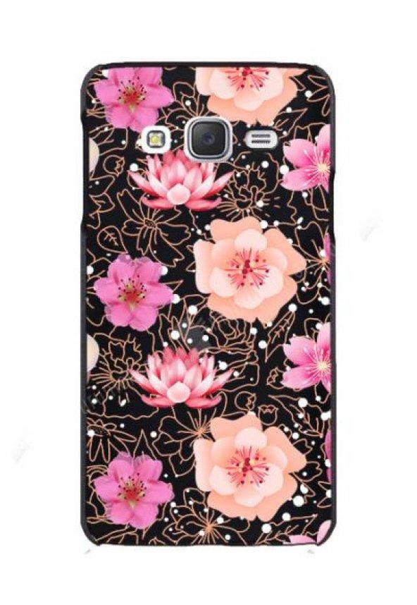 Galaxy J5 Bahar Çiçekleri Rubber Kılıf