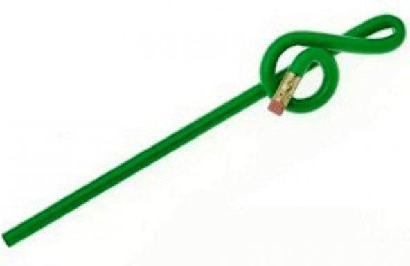 Sol Anahtarı Başlıklı Silgili Kurşun Kalem