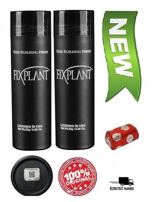 Fixplant Hair Building Fibers Orjinal Usa 56 Gr Toppik