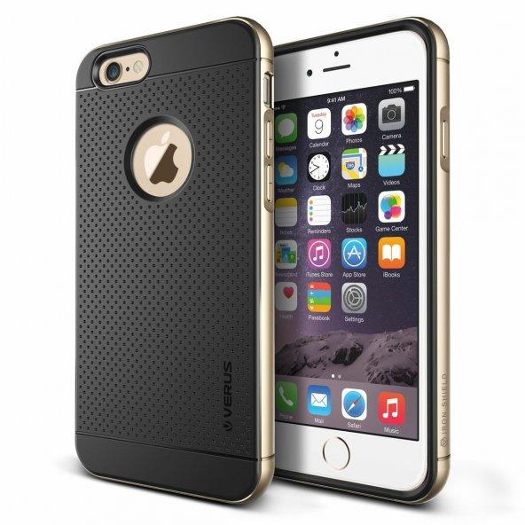 Verus iPhone 6 Plus/6S Plus Iron Shield Kılıf Gold