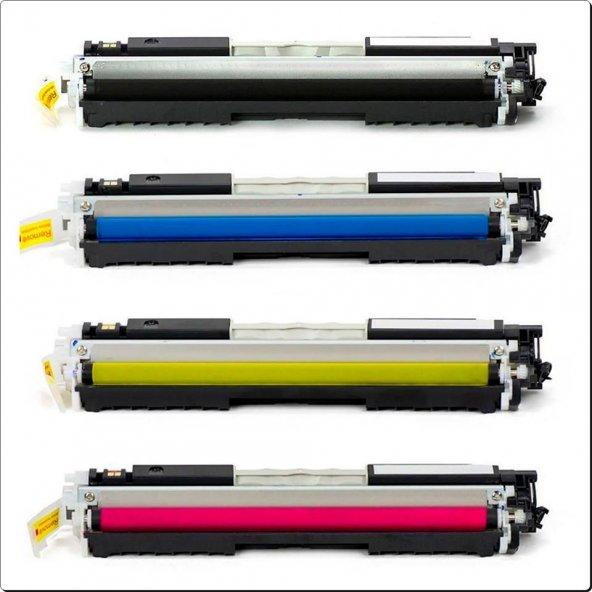 Hp LaserJet Pro Ce310A Muadil Toner Seti CP1025 CP1025nw M175 M175nw M176n M176fw M275 126A