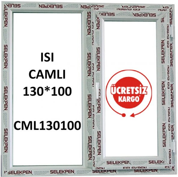 EN 130X100 BOY PENCERE-CAMLI