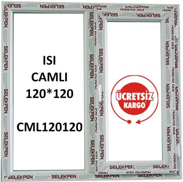 EN 120X120  BOY PENCERE-CAMLI