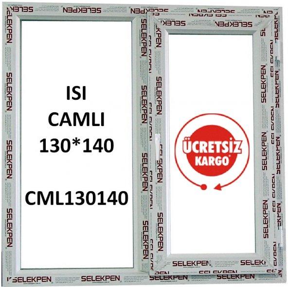 EN 130X140 BOY PENCERE-CAMLI