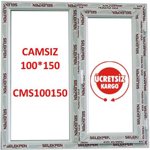 100X150 PENCERE-CAMSIZ