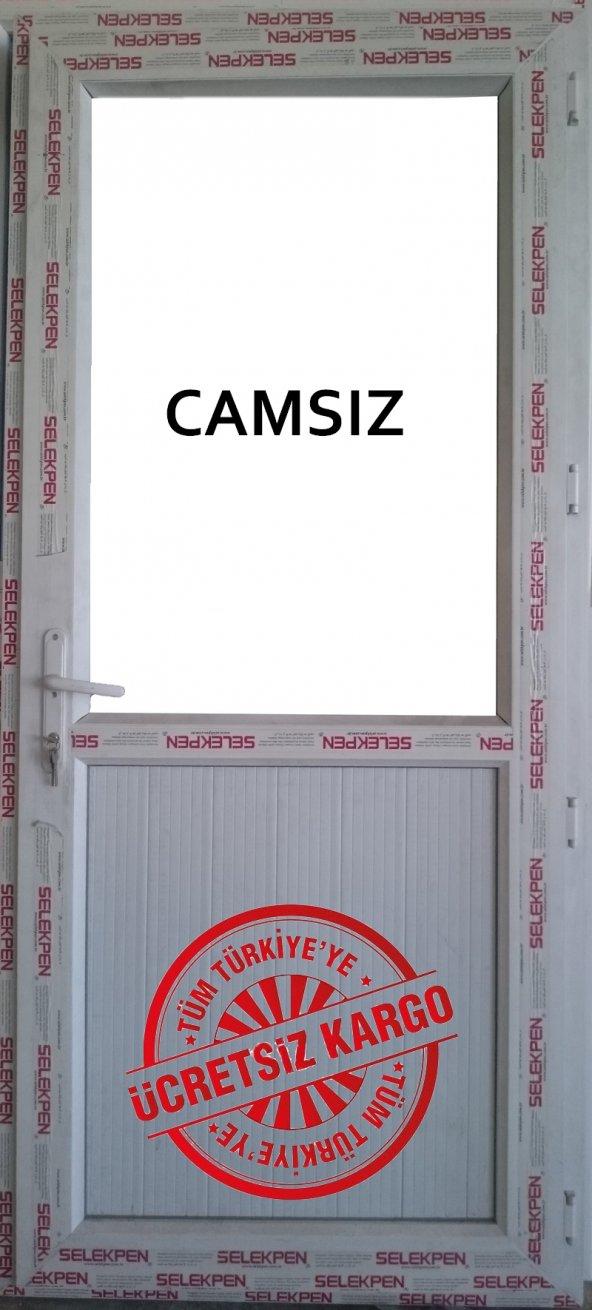 100X200 BALKON KAPISI-CAMSIZ