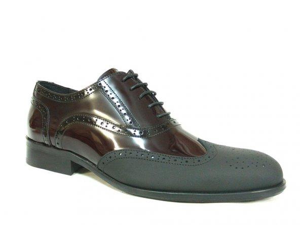Fastway 1952 Siyah-Bordo Bağcıklı Erkek Ayakkabı