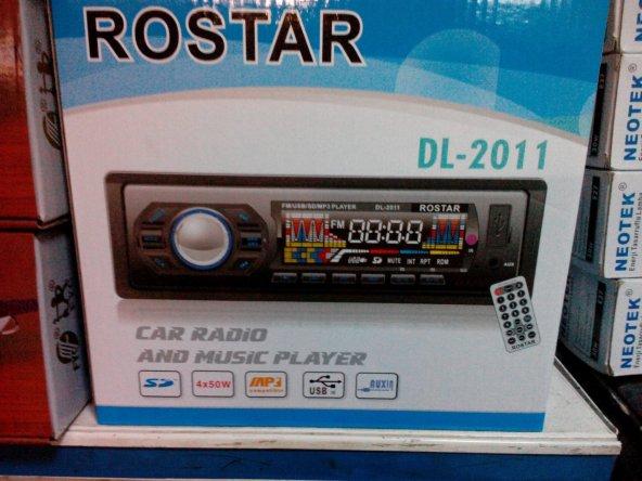 rostar DL-2011 oto teybi
