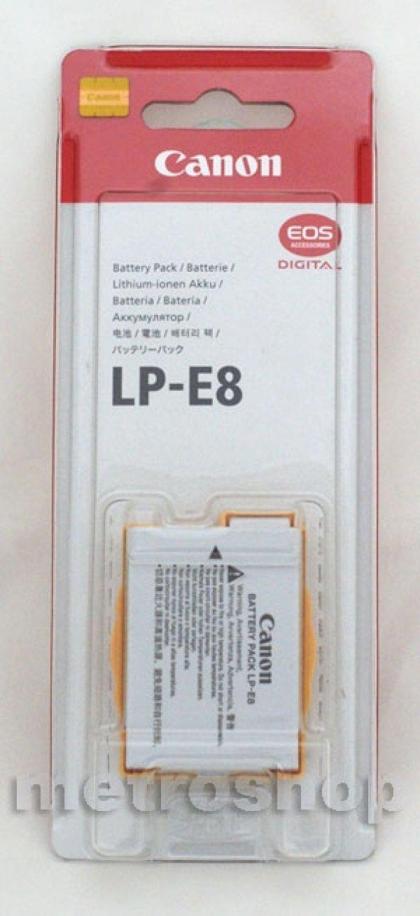 CANON LP-E8 ORJİNAL BATRYA - 550D 600D 650D 700D