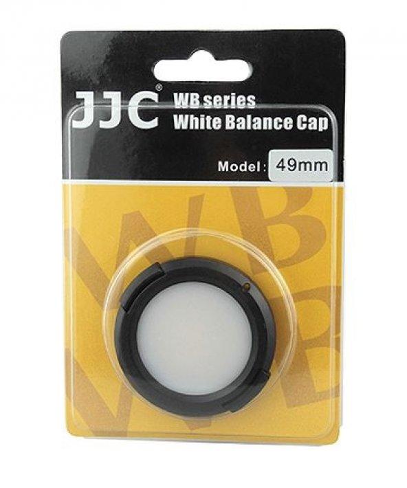 49mm JJC BEYAZ AYAR KAPAĞI, WHITE BALANCE CAP