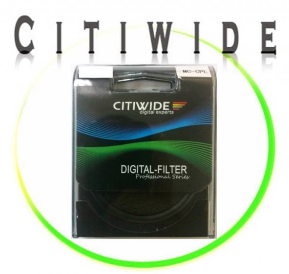 Citiwide 67mm Slim Multi Coated MC CPL Filtre