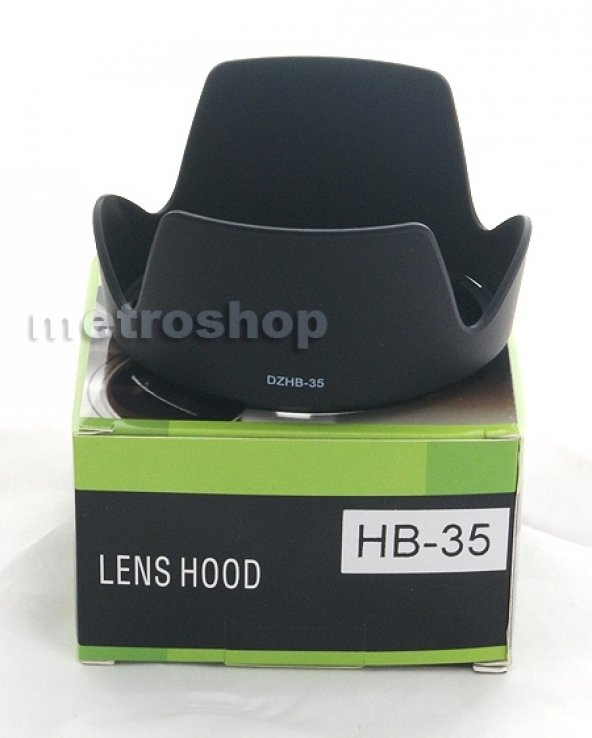 Nikon 18-200mm LENS İÇİN HB-35 PARASOLEY